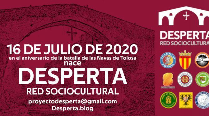 "COMUNICADO: ""NACE LA RED SOCIOCULTURAL DESPERTA"""