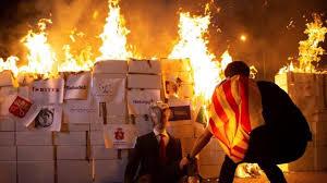 La extrema violencia de la izquierda en las calles de España