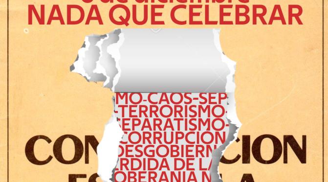 """COMUNICADO """"DESPERTA"""" EN EL ANIVERSARIO DE LA CONSTITUCIÓN DE 1978"""