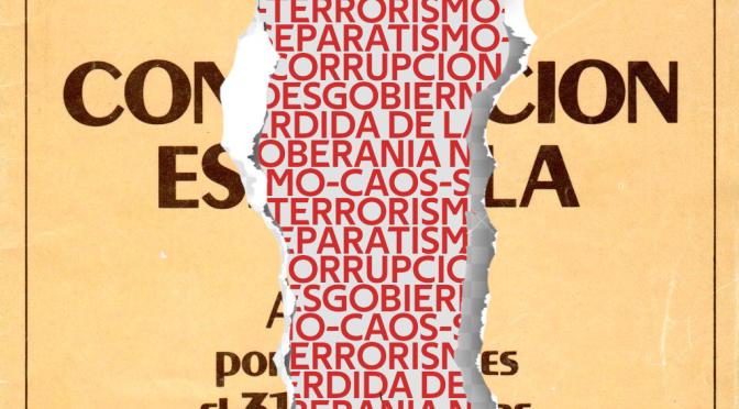 "Campaña DESPERTA: ""6 de diciembre – nada que celebrar""."