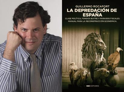 """Guillermo Rocafort nos habla de su libro """"La Depredación de España"""""""