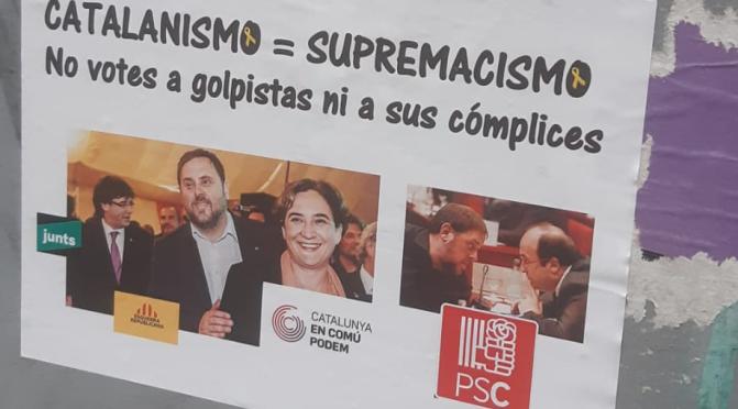 Campaña para que no se vote al independentismo