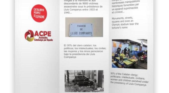 OCTUBRE: Primer homenaje a las víctimas de Companys en Ginebra (Suiza)
