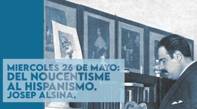 """SOMATEMPS: CICLO conferencias """"el pensamiento de EUGENI D´ORS"""""""