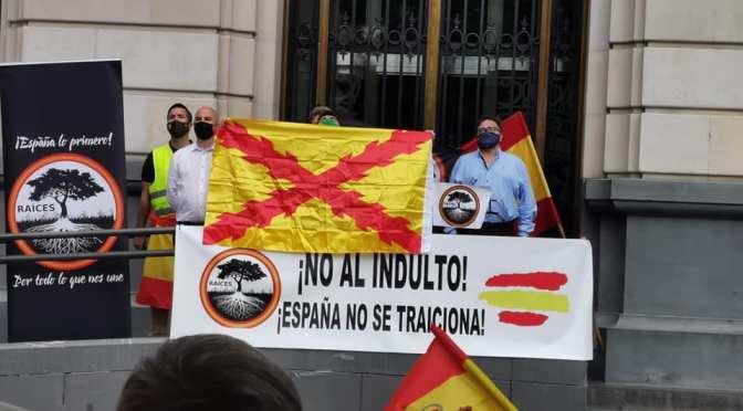 TAS RAÍCES: ACTO contra los indultos en zaragoza (galería fotos y manifiesto)